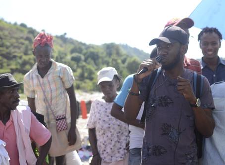 Campagne de Sensibilisation contre la domesticité dans la localité Randal(Fier-ville) Port a Piment.