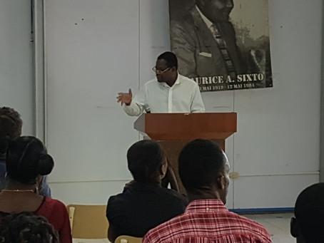 Un colloque sur la lodyans haïtienne, comme pour honorer l'illustre humoriste Maurice Sixto