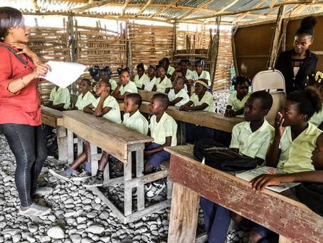 Sensibilisation pour la protection de l'enfant à l'École Communautaire Reformée à charpentier