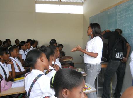 Sensibilisation pour la protection de l'enfant au lycée Marie Jeanne
