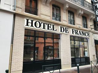 Enseigne Hôtel de France