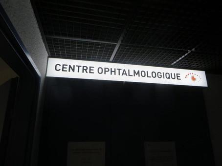 Enseigne pour le Centre Ophtalmologique d'Auch