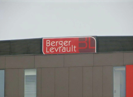 Enseignes pour Berger Levrault Travaux