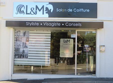 Enseignes pour L&M coiffure