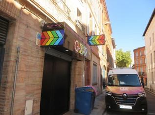 Enseigne pour G-BAR à Toulouse