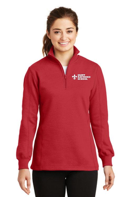 Sport-Tek® Ladies 1/4-Zip Sweatshirt. LST253