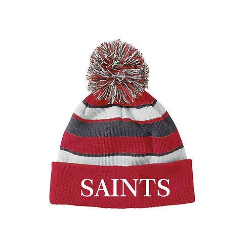 Holloway Tassle Hat  Embroidered logo