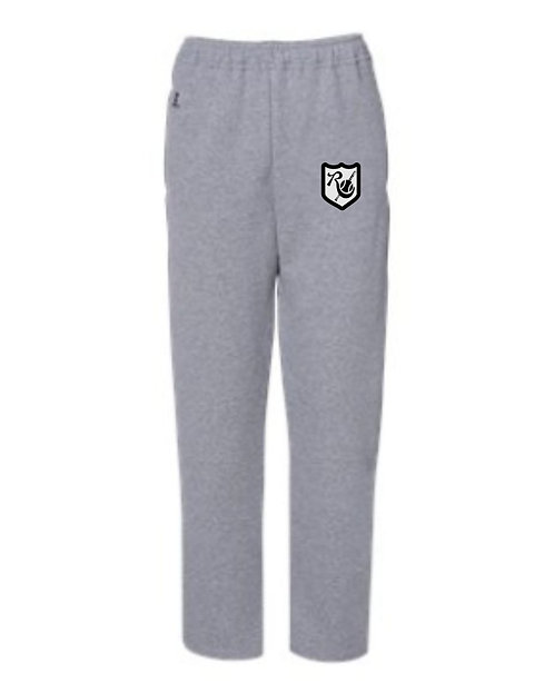 Russell Open Bottom Sweat Pants 596HBB