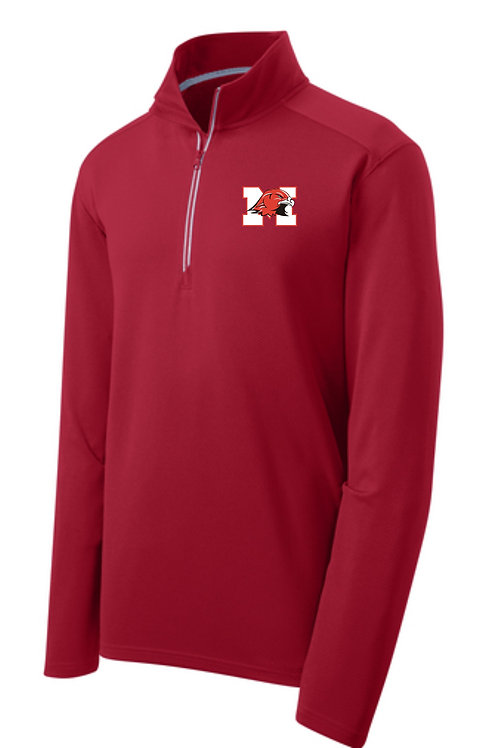 Sport-Tek® Sport-Wick® Textured 1/4-Zip Pullover
