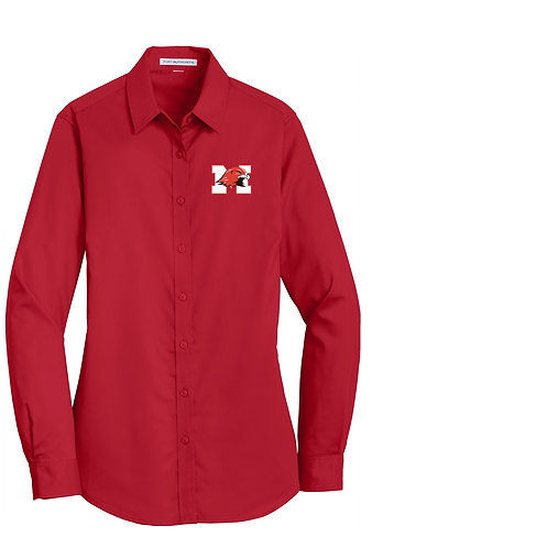 Port Authority® Ladies Super Pro™ Twill Shirt