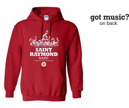 Gildan Hooded Sweatshirt BAND
