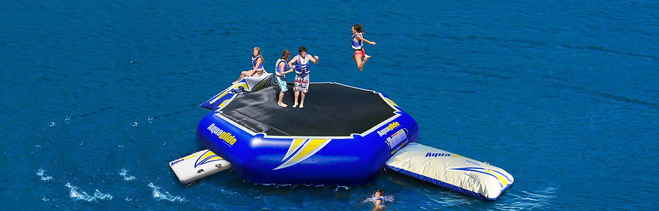 Water Trampoline Specialist | Bouncers | Rebound | Aquaglide