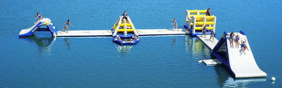 Aquapark | Aquaglide | Water Trampoline Specialist