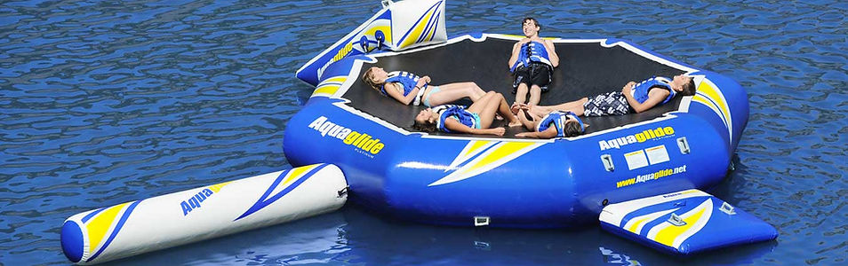 Aquaglide Water Trampoline Accessories and Pumps