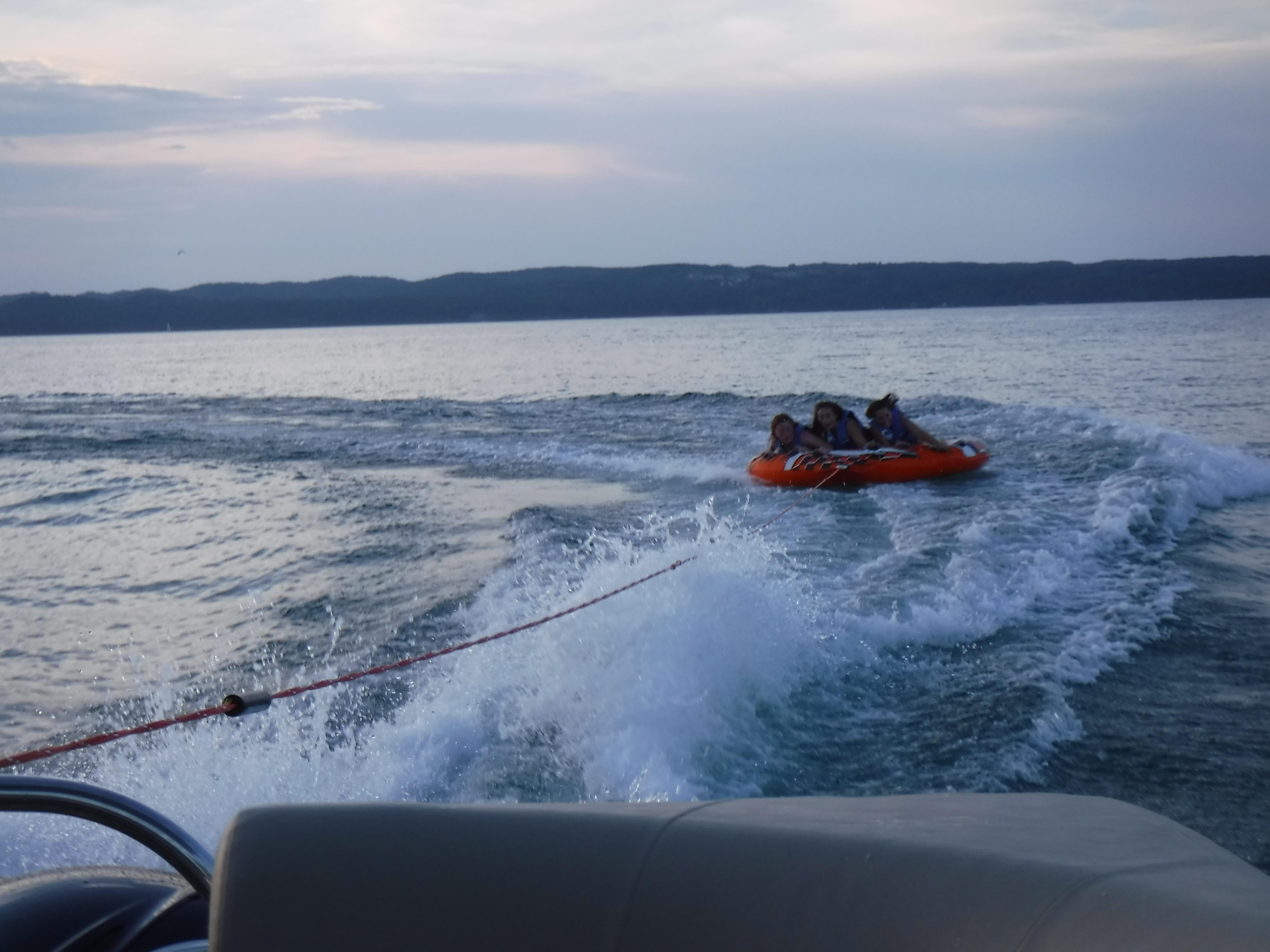 Tubing Lake Charlevoix