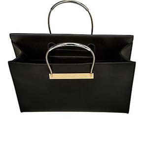 Balenciaga Cable Flap Shopper M Black