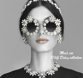 Dolce and Gabbana Summer 2016 Daisy Collection