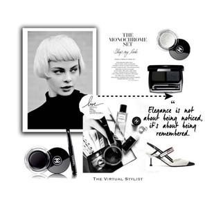The monochrome set, beauty items