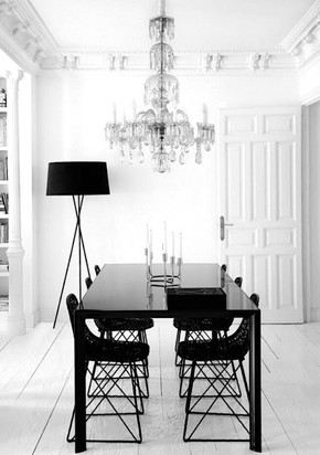 Neo-Baroque and Minimalism, design by Nacho Polo