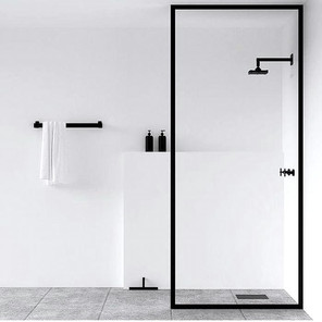 Clean bathroom design