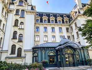 Luxury in the city, Beau Rivage Palace Lausanne