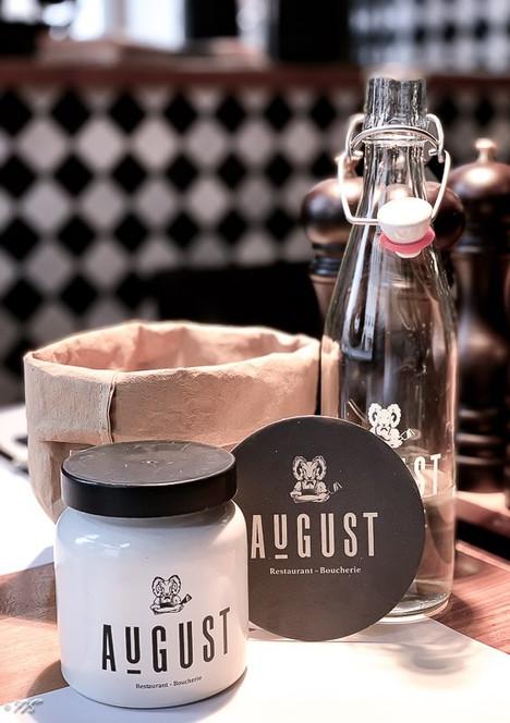 restaurant August - Widder Hotel