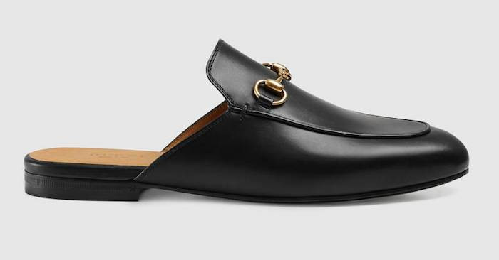 Gucci Princetown slippers leather