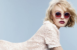 Lily-Rose Depp featuring in Chanel Eyewear Campaign