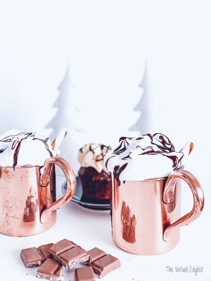 Recipe for a festive Rum Chococcino