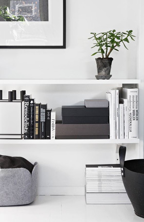 How to decorate with open shelves
