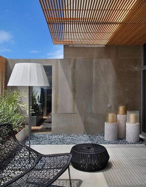 How to create your living room outside