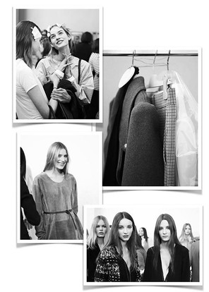 A peek Backstage at the Chloé Winter Collection 2015
