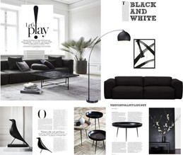 Interior style ideas in black and white