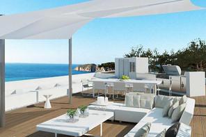 Modern new build sea view Villa-Santa Ponsa