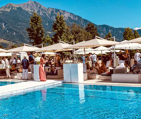 Gault Millau garden party 2019 Resort Bad Ragaz