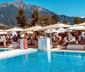 Gault Millau garden party 2019 Resort Bad Ragaz
