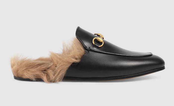 Gucci Princetown slippers fur