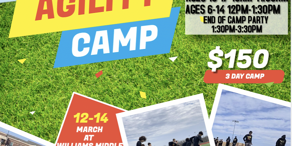 Spring Break Speed & Agility Camp