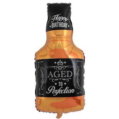 "Whiskey Bottle ""Aged to Perfection"" 