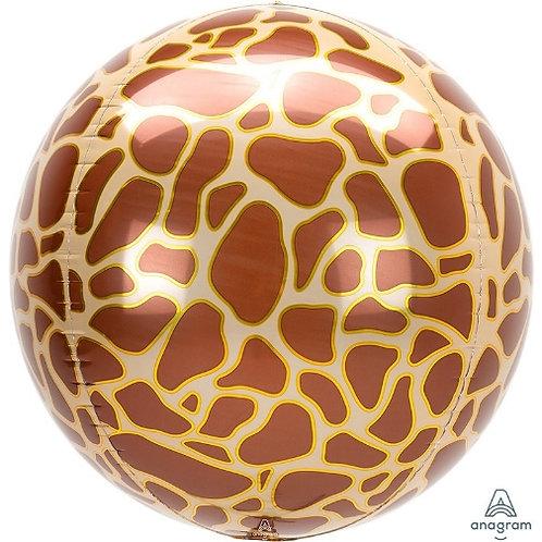 "16"" ORBZ Animal Printz Giraffe"