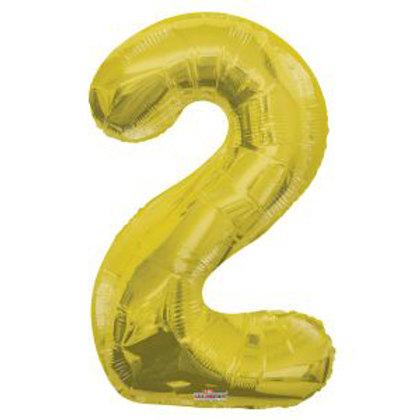 "34"" GOLD NUMBER 2"