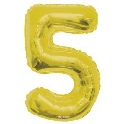 "34"" GOLD NUMBER 5"
