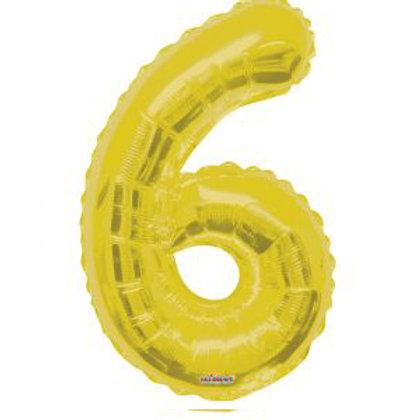 "34"" GOLD NUMBER 6"