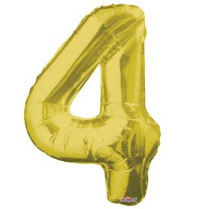 "34"" GOLD NUMBER 4"