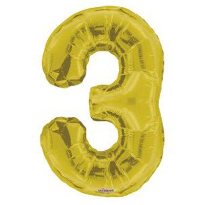 "34"" GOLD NUMBER 3"