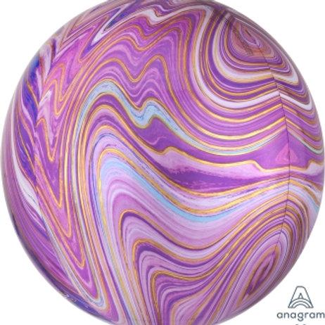 "16"" ORBZ Marblez Purple"