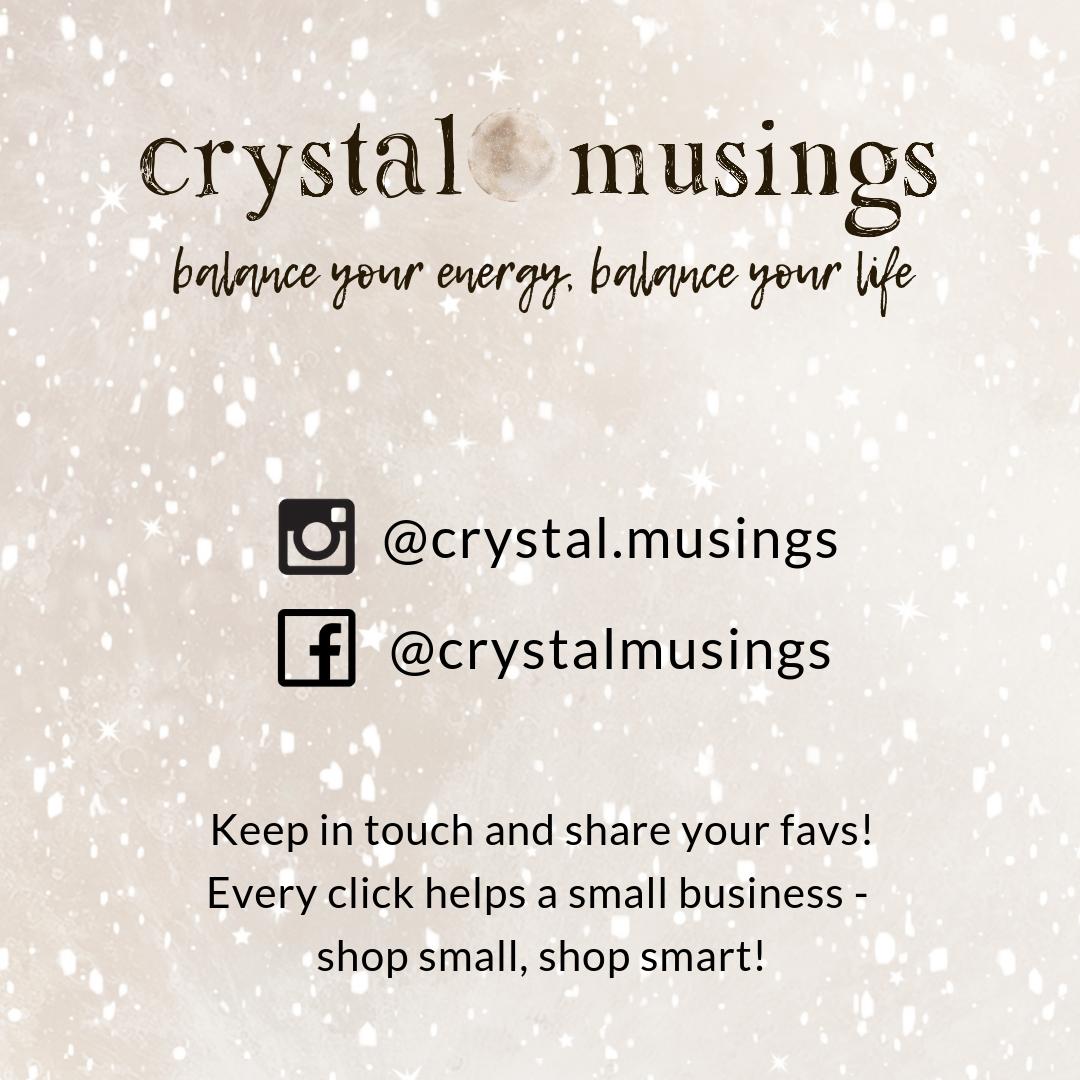 Tourmaline Quartz & Shungite Necklace   crystalmusings