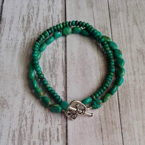 Turquoise Multi-Strand Bracelet