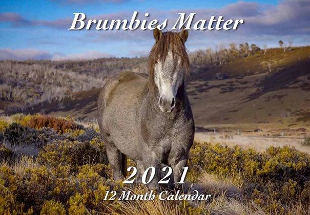 2021 Brumbies Matter Calendar