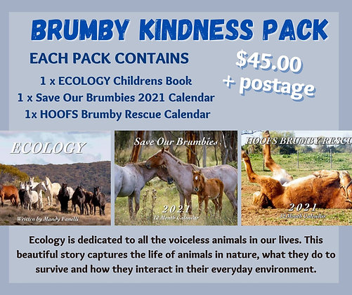 Brumby Kindness Pack